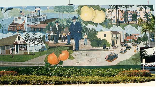 Mural in South Florida that inspired the Citronix Logo