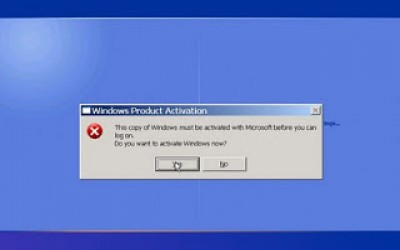 "TECH NOTE: Can't Activate XP after a Repair Install, because you can't get past the ""Please Wait"" screen?"